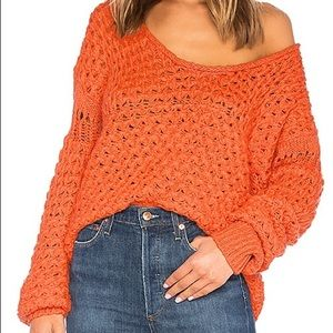 Free People Coral Sweater - Women's Size Large